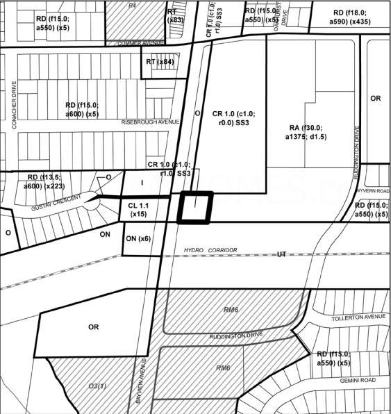 The Bennett On Bayview Site Plan